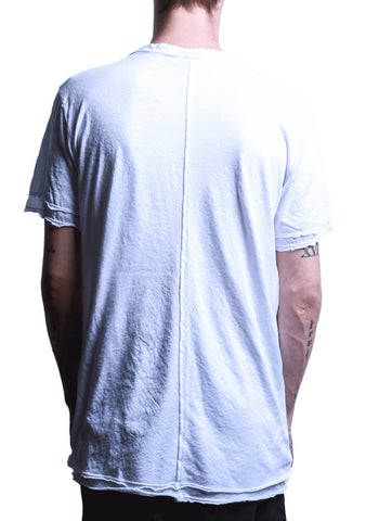 U-Neck Double Tee White