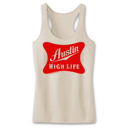 Austin High Life Ladies' Beige Tank