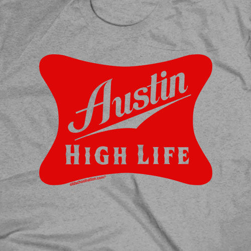 Austin High Life Sport Grey T-shirt