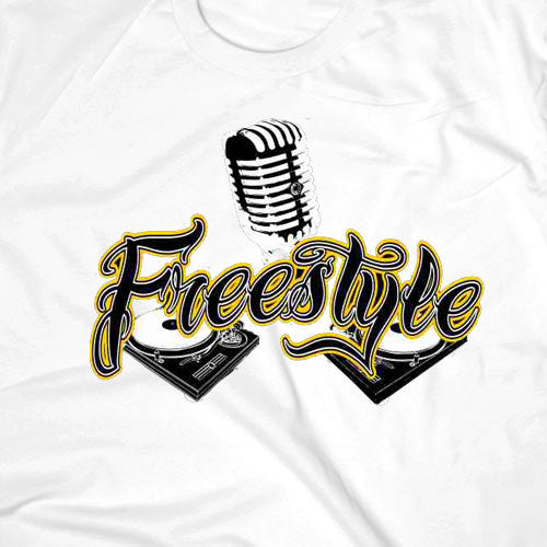 Freestyle White T-shirt