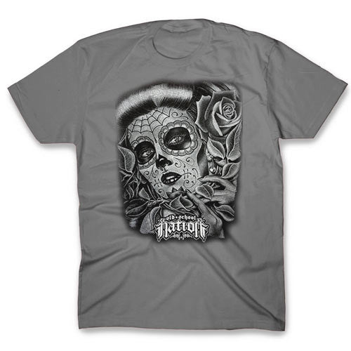 Tattoo Face Unisex Charcoal T-shirt