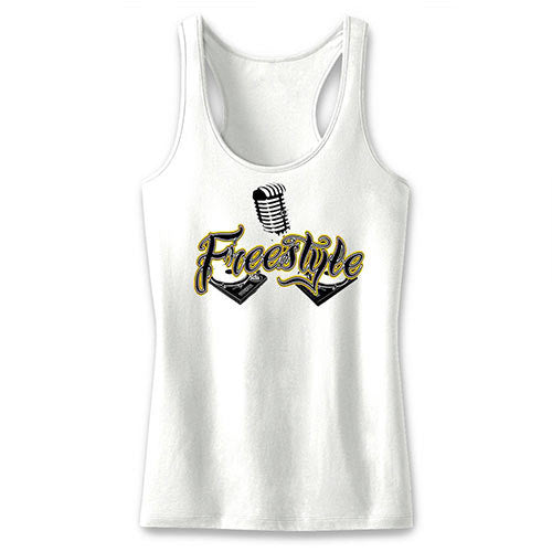 Freestyle Ladies' White Tank