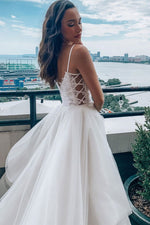 White sweetheart tulle lace long prom dress tulle formal dress