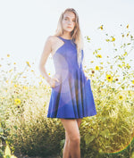Blue short prom dress, cute blue homecoming dress