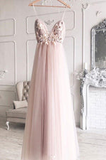 Sweetheart tulle lace long prom dress, tulle lace evening dress