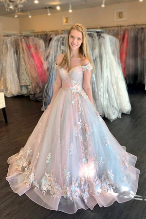 Elegant tulle lace sweetheart prom dress tulle lace formal dress