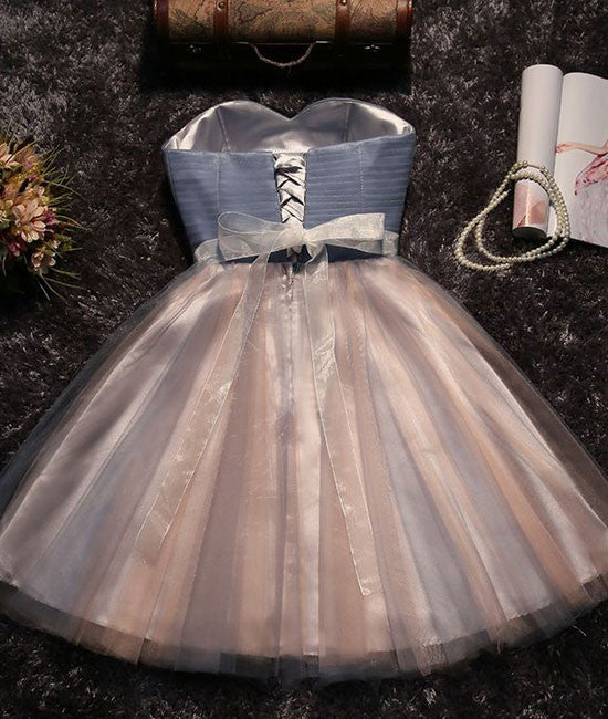 Cute tulle short prom dress for teens, homecoming dress - shdress