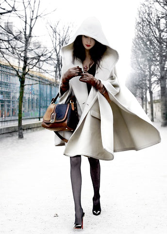 How to wear white in Winter, Winter white fashion