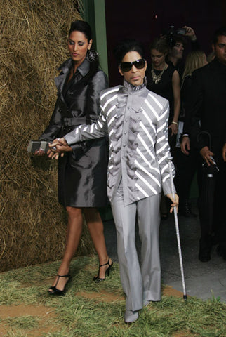 Prince and Rihanna attended Chanel Pret a Porter show in Paris Womenswear Fashion Week at the Grand Palais.