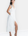Dusk Til Dawn Wrap Dress Linen