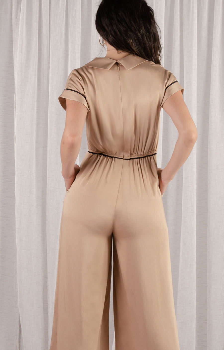 Gozo Jumpsuit - Latte