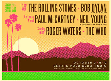 Desert Trip AKA Oldchella is real! Details below: