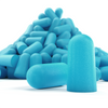 Pile of Eargasm Foam Earplugs
