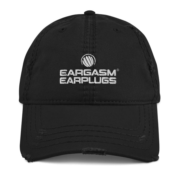 Eargasm Earplugs Unisex Distressed Dad Hat