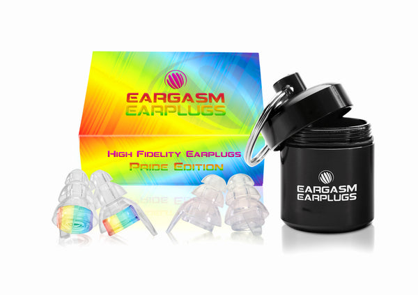 Eargasm High Fidelity Earplugs: Pride Edition (Special Offer)