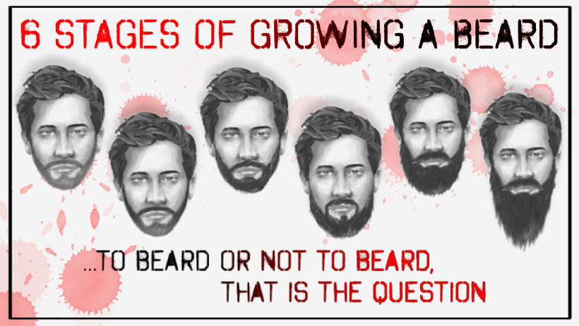 The 6 Stages Of Growing A Beard and Beard Growing Tips