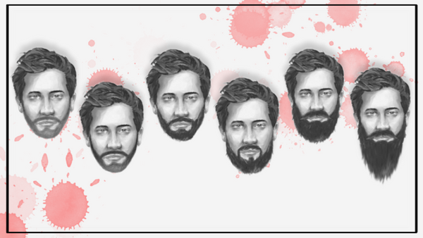 6 STAGES OF GROWING A BEARD and main tips