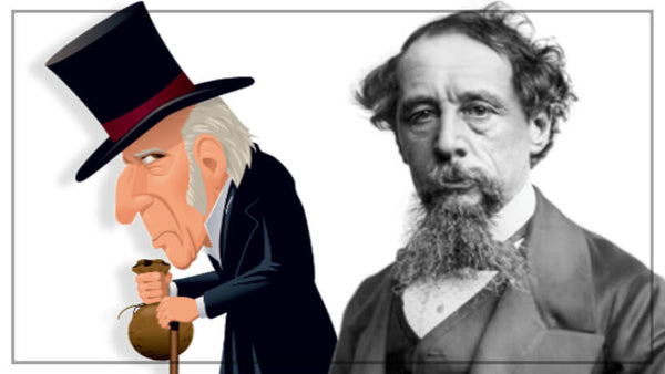Scrooge from Charles Dickens beard