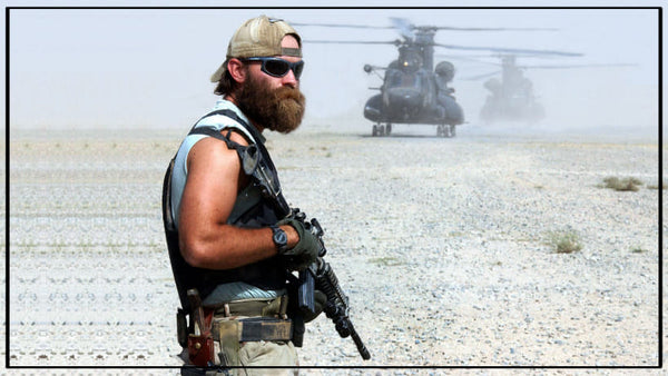 American military branches beard rules