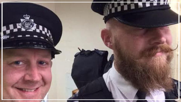 British police beard rules