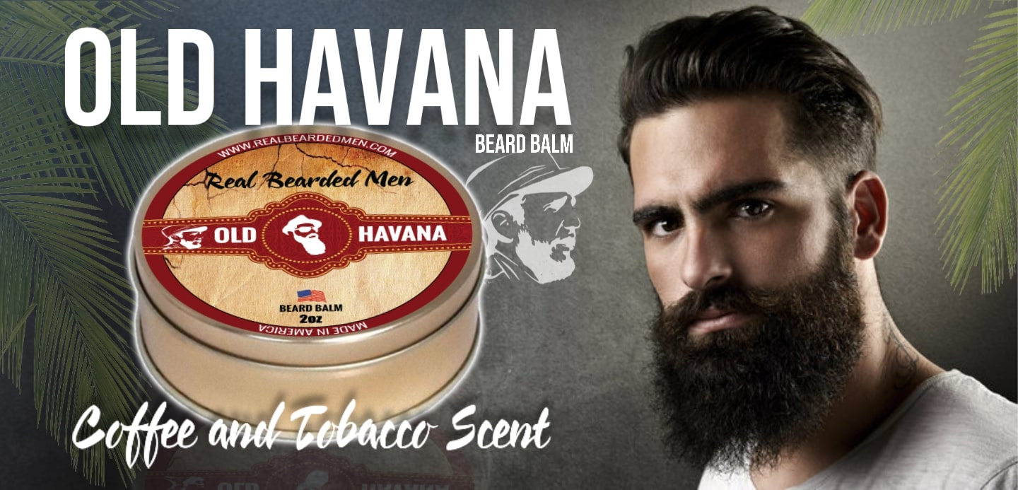 Old Havana coffee tobacco scent beard balm
