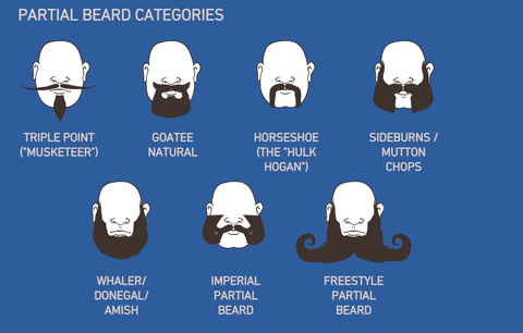 Partial Beard category types