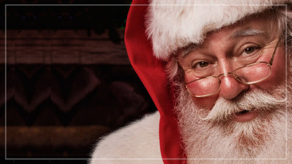 Real Bearded Men's Twelve Character Beards of Christmas