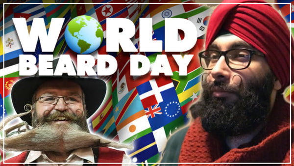 World Beard Day - Celebrate beard greatness today