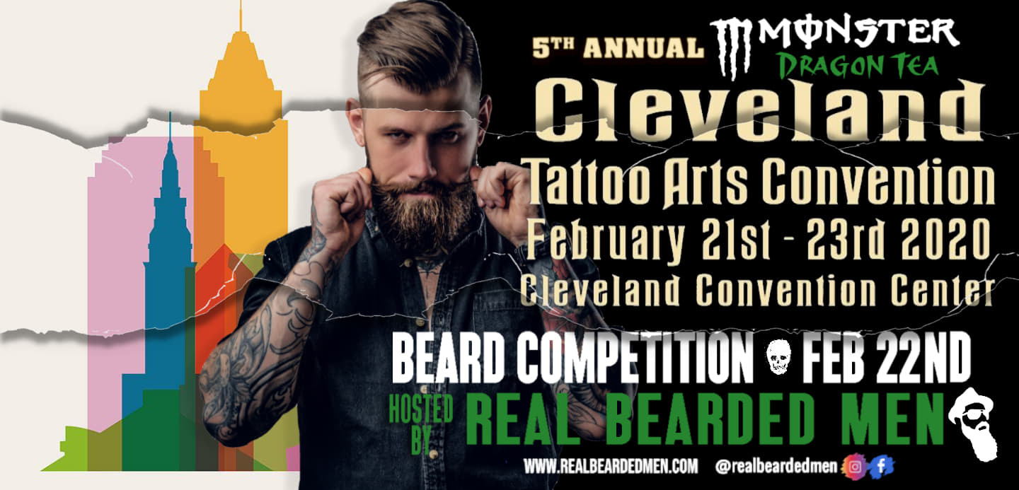 cleveland tattoo convention beard competition