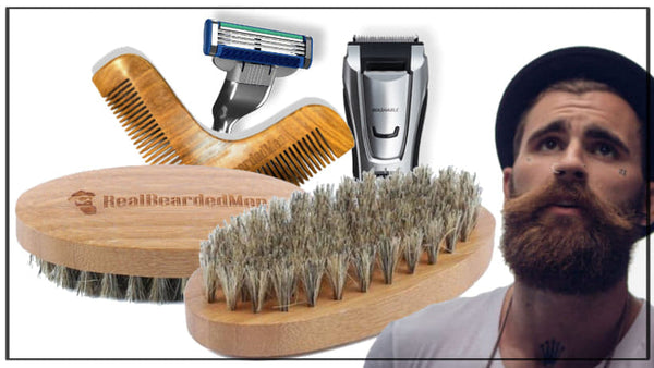 groom beard neckline tools and accessories