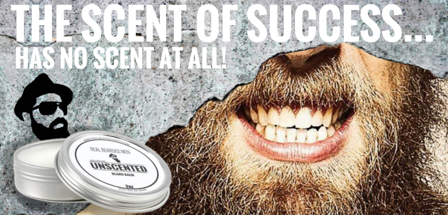 unscented beard balm real bearded men
