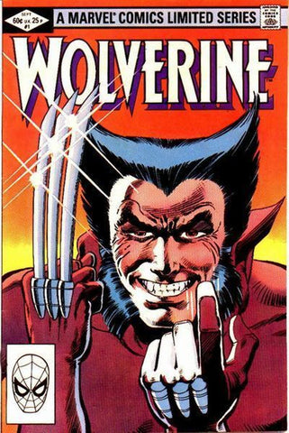 A comic book cover showing Wolverine and his amazing sideburns