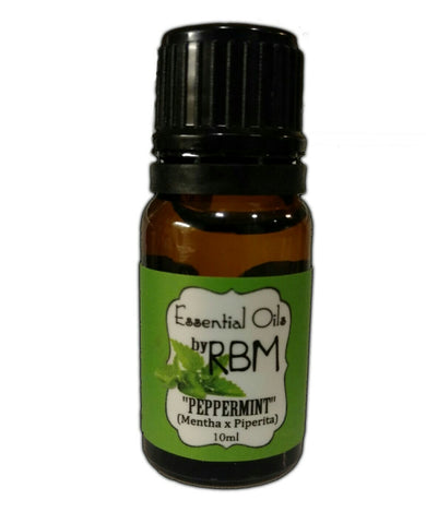 Peppermint Essential Oil - Real Bearded Men
