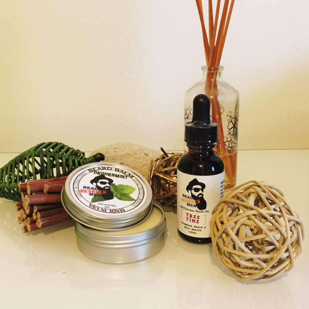 Real Bearded Men - Beard Oil & Balm Bundle - Real Bearded Men