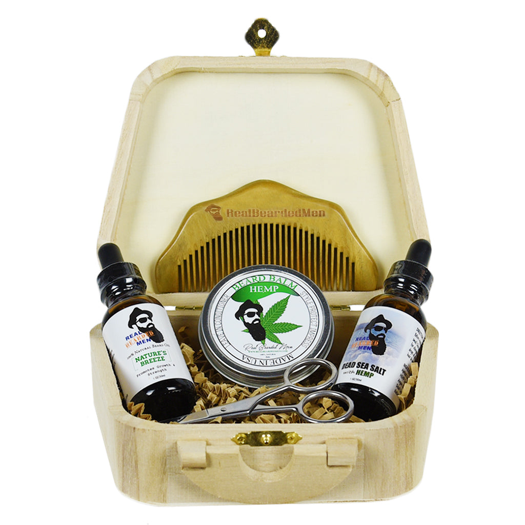 Balm oil Luxury Beard box gift set