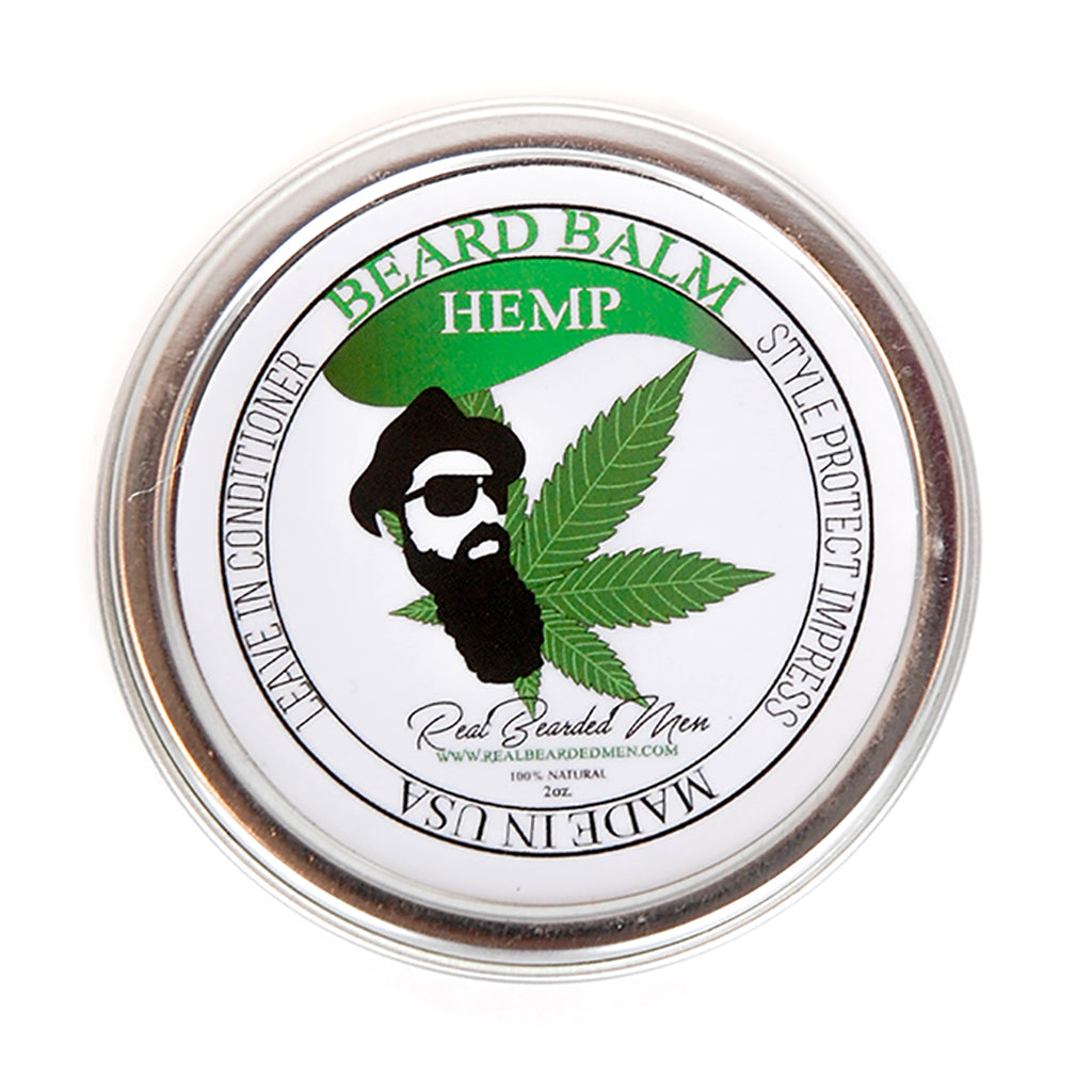 Hemp Beard Balm - Real Bearded Men