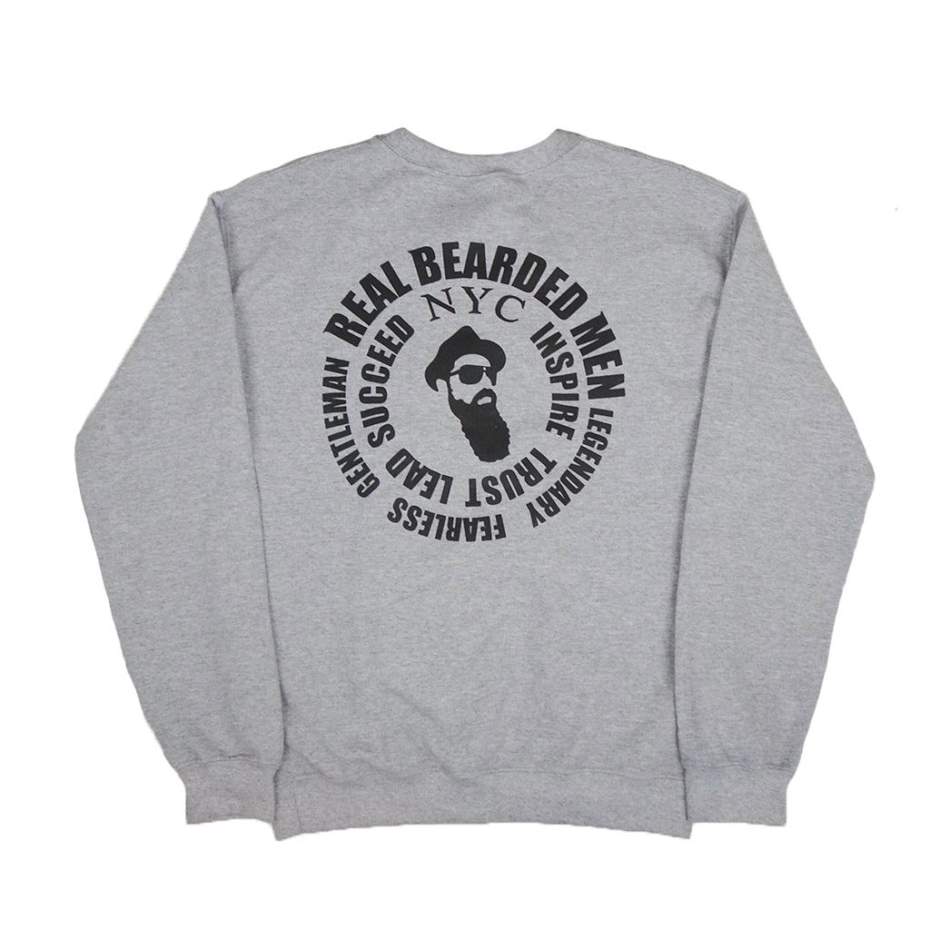 Real Bearded Men - Premium Crew Neck - Real Bearded Men