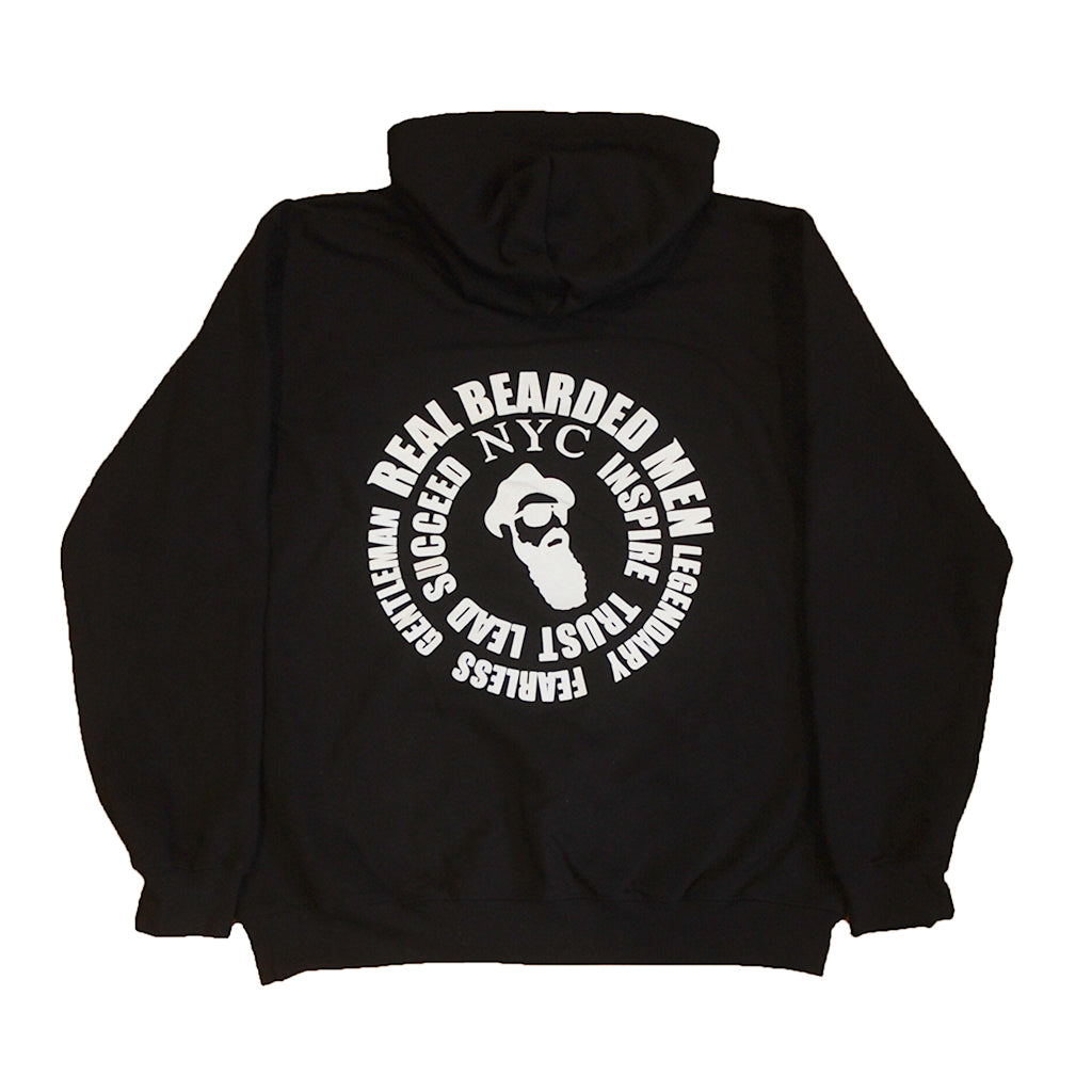 Real Bearded Men - Premium Hooded Sweatshirt - Real Bearded Men