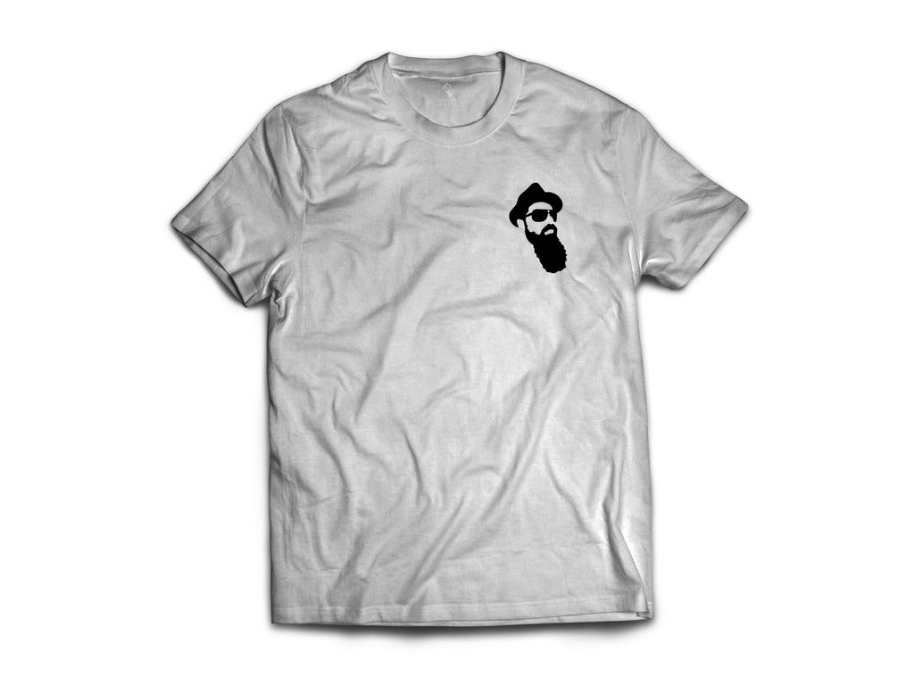 Real Bearded Men - Premium Head Logo T-Shirt - Real Bearded Men