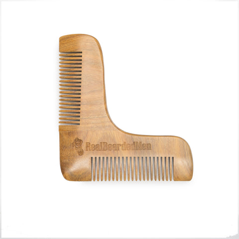 Boomerang Grooming Beard Comb - Real Bearded Men