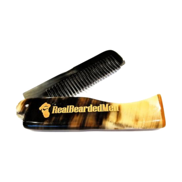 Ox Horn Beard Comb - Real Bearded Men