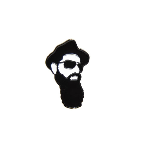 Real Bearded Men Logo Pin