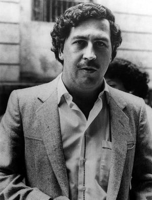 Black and White Pablo Escobar