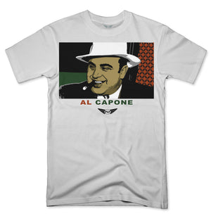 FLY - Al Capone V2 Tee-TEE-Fly Street Life-WHITE-S-streetwear-from-FlyStreetLife