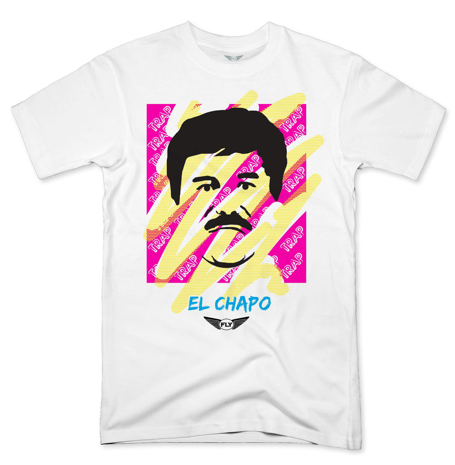 FLY - Chapo Trap Pink/Yellow Tee - Fly Street Life