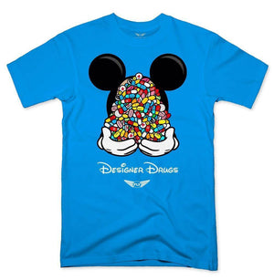 FLY - Designer Drugs Toons Tee-MENS CLOTHING-FLY STREET LIFE-Turquoise-S-streetwear-from-FlyStreetLife