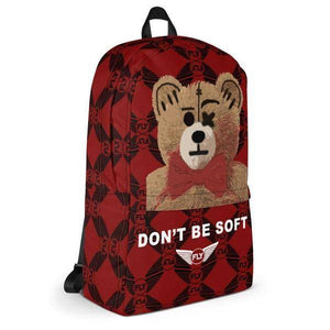 FLY - Don't Be Soft Backpack-ACCESSORIES-FLY STREET LIFE-One Size-Burgundy-streetwear-from-FlyStreetLife