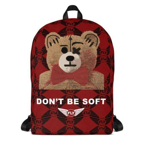FLY - Don't Be Soft Backpack-ACCESSORIES-FLY STREET LIFE-Streetwear