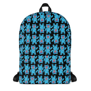 FLY - Don't Be Soft Blue Bears Backpack - Fly Street Life