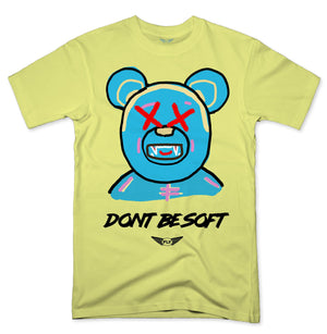 FLY - Don't Be Soft Blue V2 Tee-TEE-FLY STREET LIFE-BANANA-S-streetwear-from-FlyStreetLife